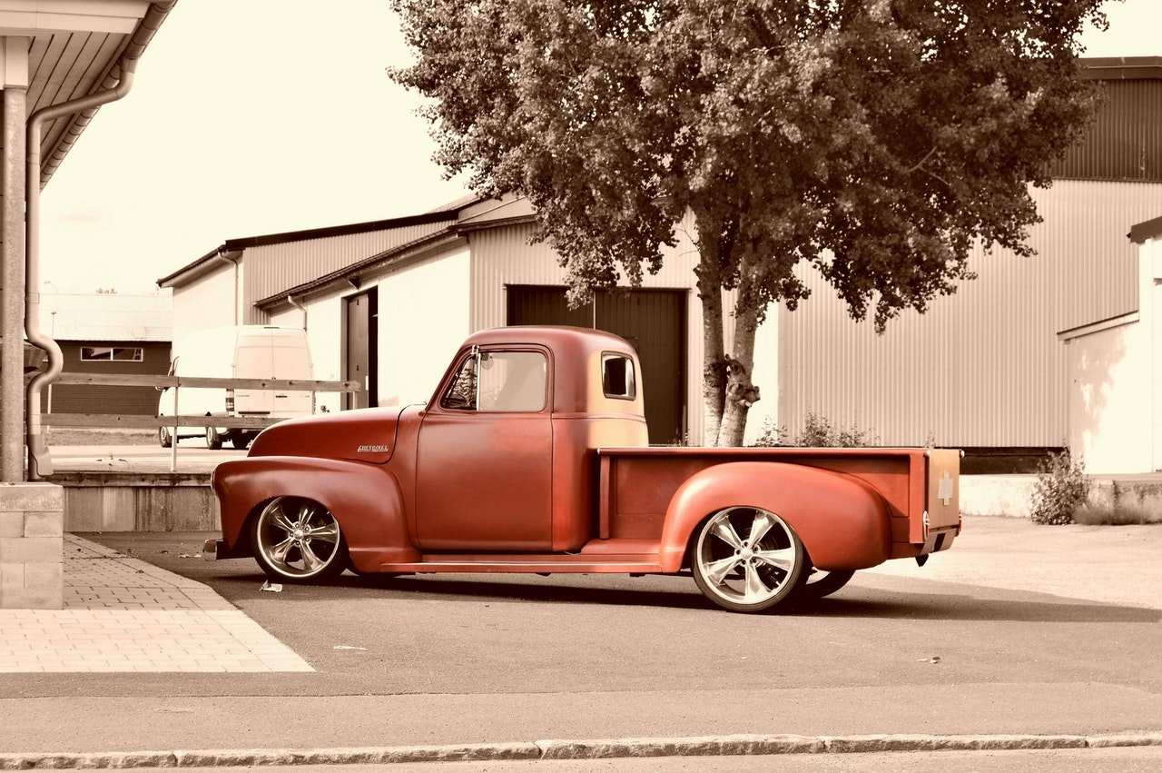 Photo of an old pick-up truck   Photo: Getty Images