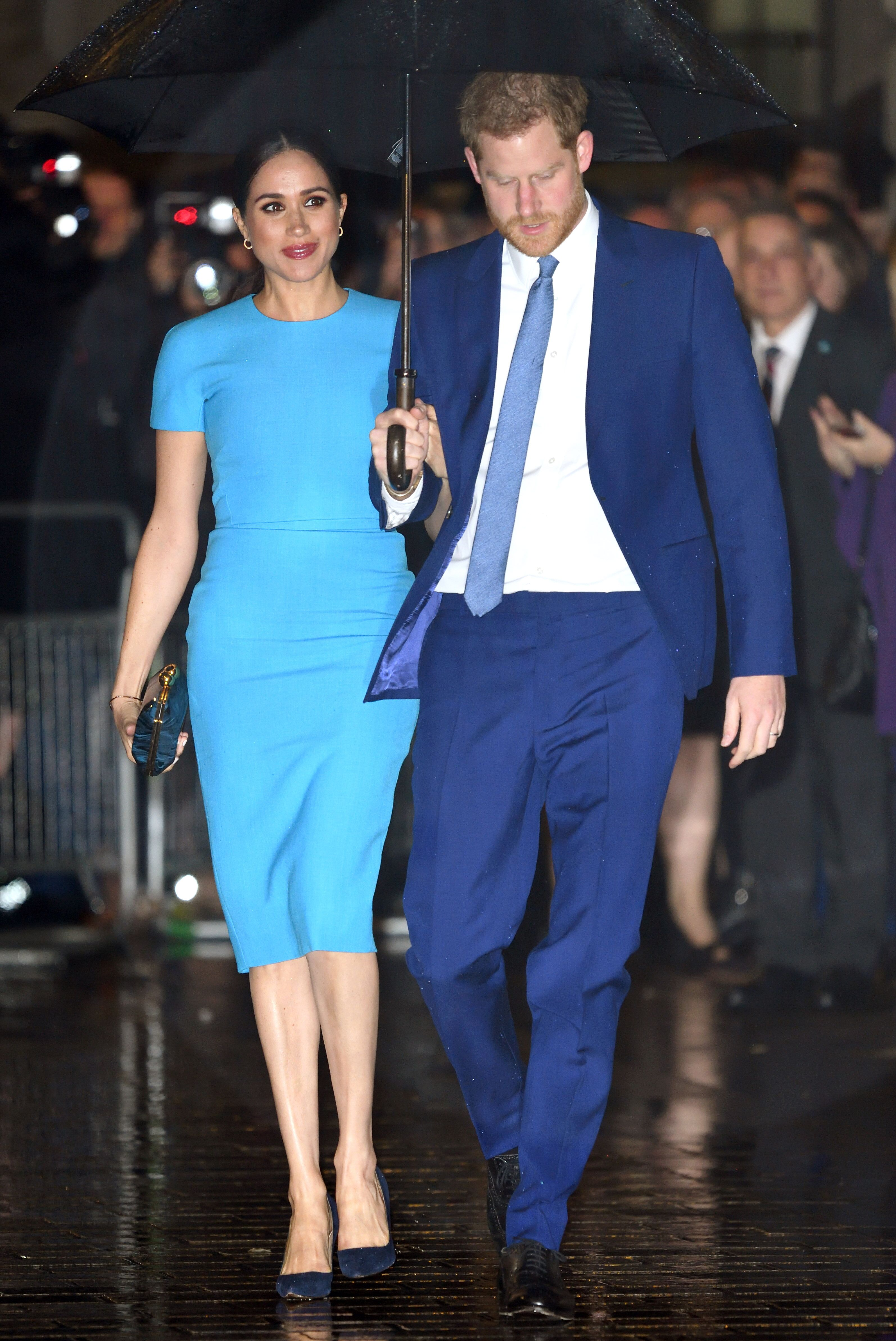 Prince Harry and Duchess Meghan at The Endeavour Fund Awards at Mansion House on March 05, 2020, in London, England | Photo: Karwai Tang/WireImage/Getty Images
