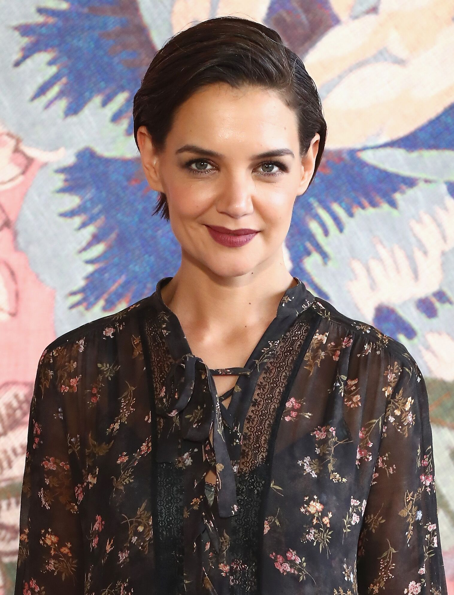 Actor Katie Holmes attends the Zimmermann fashion show during New York Fashion Week: The Shows at Gallery I at Spring Studios on February 12, 2018 in New York City.  | Source: Getty Images