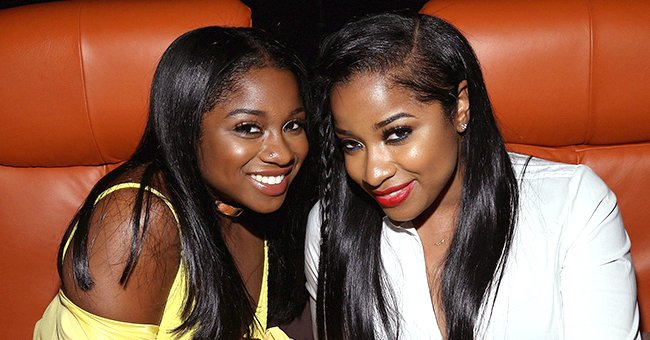 Toya Johnson and Her 2 Daughters Reign & Reginae Pose in Matching Outfits in a New Photoshoot