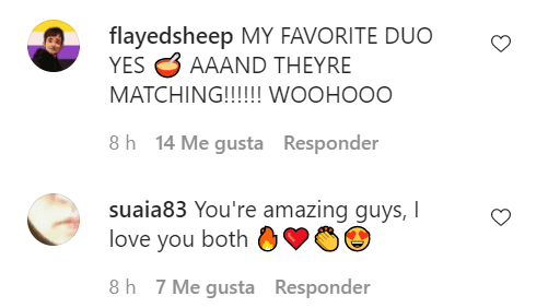 Fans comments on Mae Martin's Instagram post shared on August 19, 2021   Photo: Instagram/hooraymae
