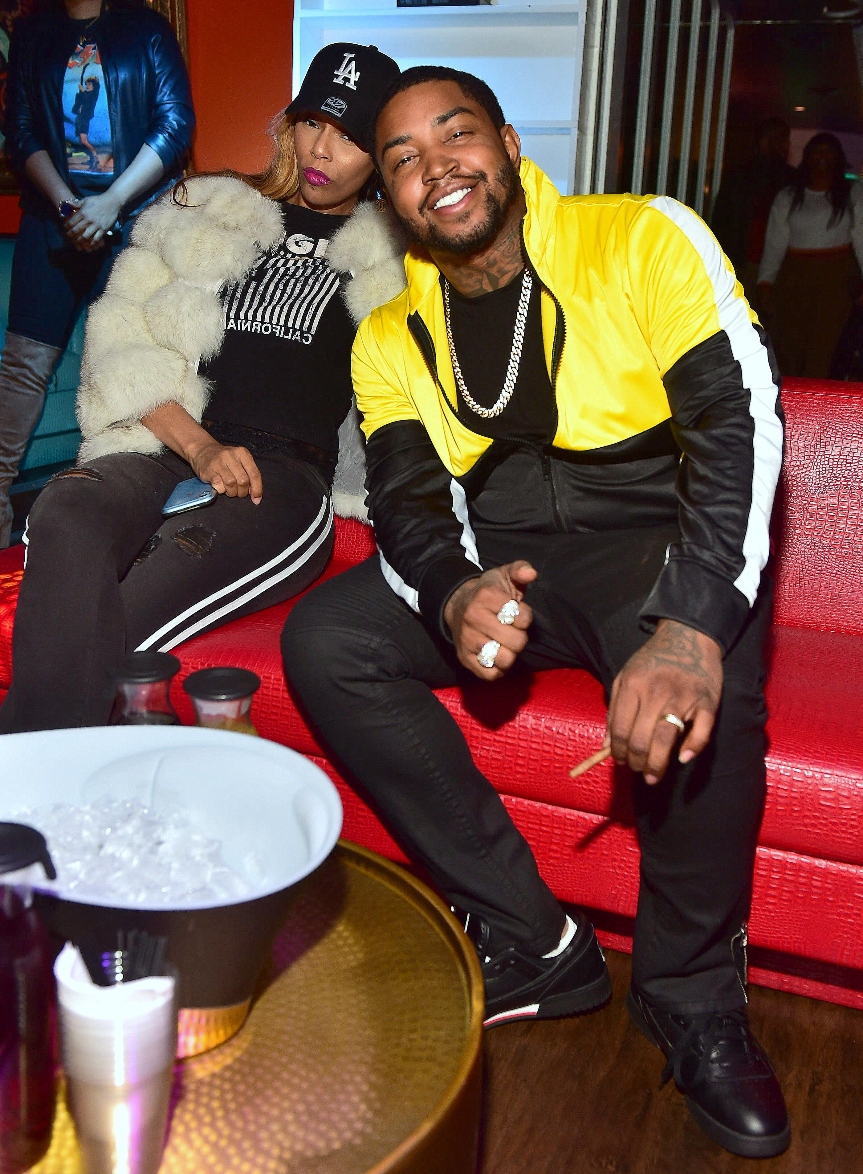 Adiz 'Bambi' Benson and Lil Scrappy attend Bambi Birthday Affair Hosted by Lil Scrappy at Oak Atlanta on March 7, 2019 in Atlanta, Georgia. | Source: Getty Images