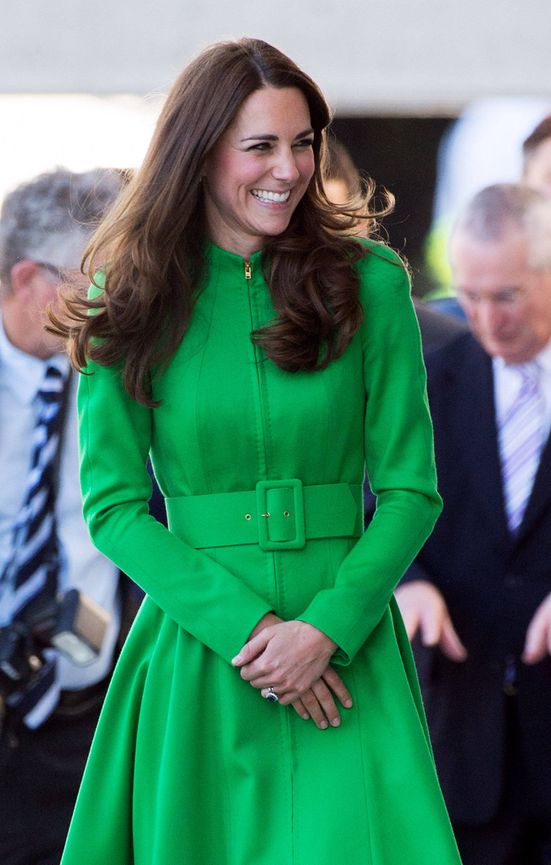 Kate Middleton the Duchess of Cambridge visits the National Portrait Gallery on April 24, 2014 | Photo: Getty Images.