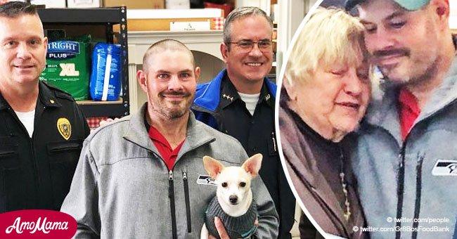 Un homme sans-abri qui a trouvé 17,000$ a sidéré sa communauté quand il les a donnés à une oeuvre de charité
