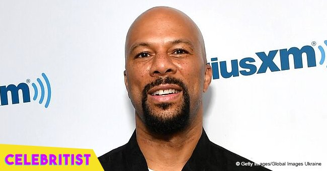 Rapper Common's lawyer ex-girlfriend stuns in cleavage-baring gown with thigh-high slit