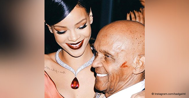 Rihanna's grandfather wows the crowd with his amazing dance skills in his 90th birthday video