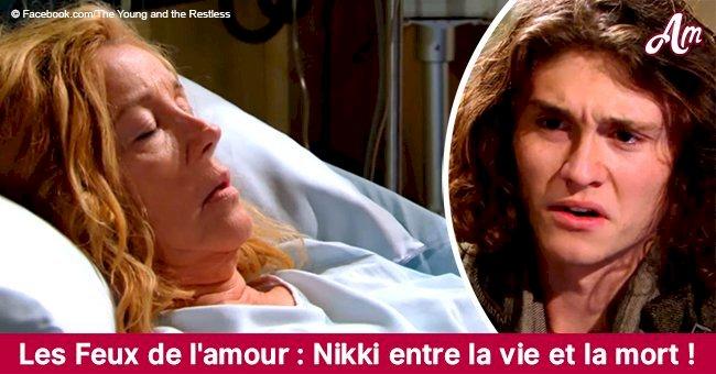 Les Feux de l'amour: Noël pourrait être fatal pour Nikki, elle est au bord de la mort