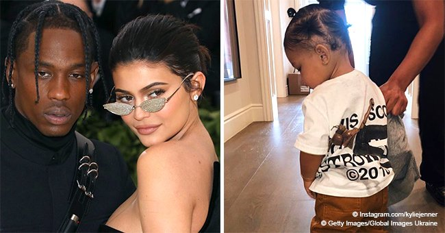 Kylie Jenner sparks online fury yet again after dressing baby Stormi 'like a boy' in new photos