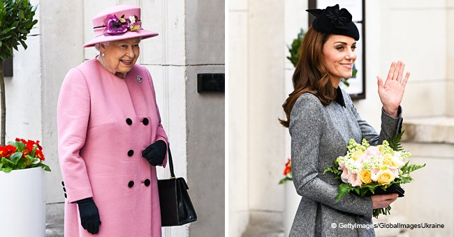 Kate Middleton Makes Her First Special Joint Appearance with Queen Elizabeth