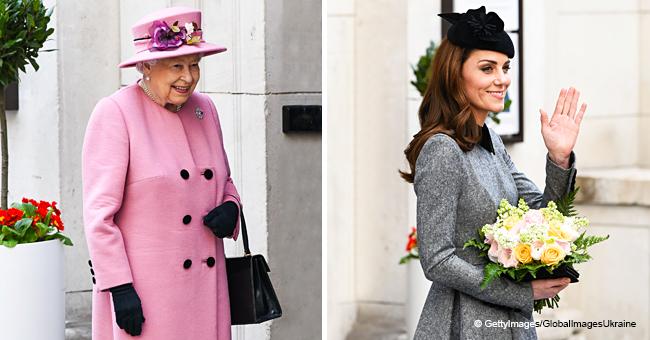 La primera aparición especial de Kate Middleton con la Reina Elizabeth