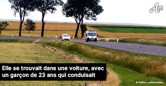 Tragédie en Aveyron : Un arbre s'est effondré sur la route et a écrasé une jeune fille de 20 ans