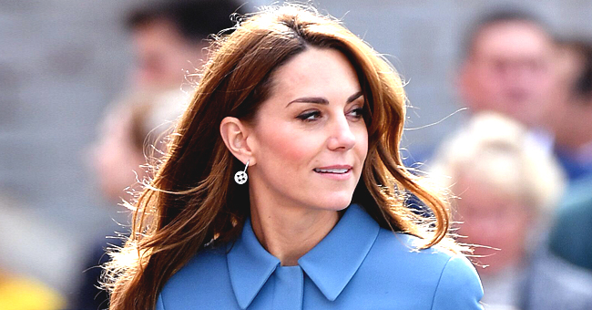 Kate Middleton's Fans Defend Her for Recycling Blue Coat More Than Once