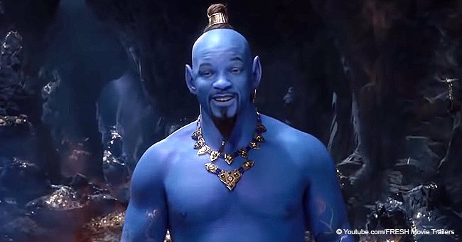 Will Smith gets scorched & mocked for being a 'horrifying' Genie in the new 'Aladdin' trailer