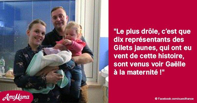Quimper: Une femme a donné naissance à une fille sur le chemin de l'hôpital bloqué par les gilets jaunes
