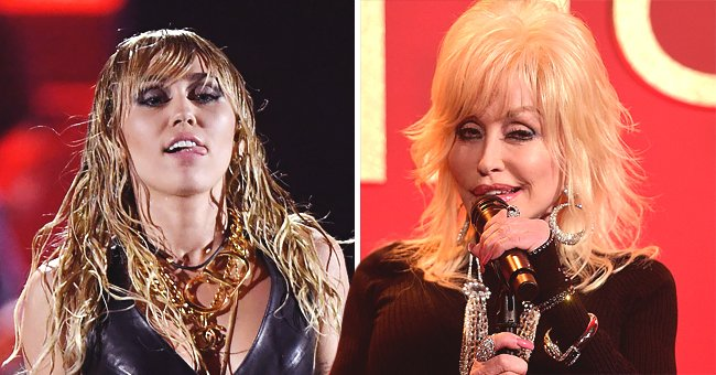 Dolly Parton Talks about Relationship with Goddaughter Miley Cyrus and Says the 'Slide Away' Singer Knows What She's Doing
