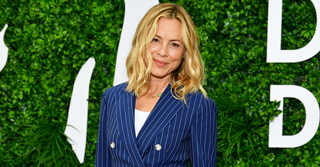 Maria Bello of NCIS Poses with Her Son Jack in Monaco