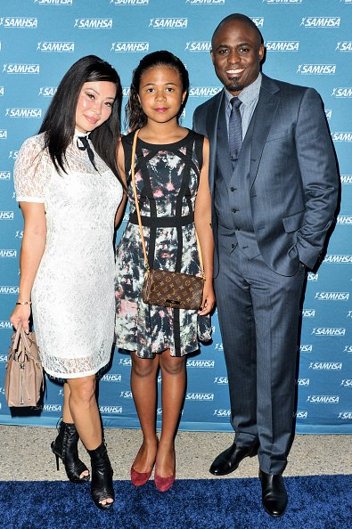 Wayne Brady, Maile, and Mandie Taketa at Royce Hall, UCLA on August 12, 2015 in Westwood, California.   Photo: Getty Images