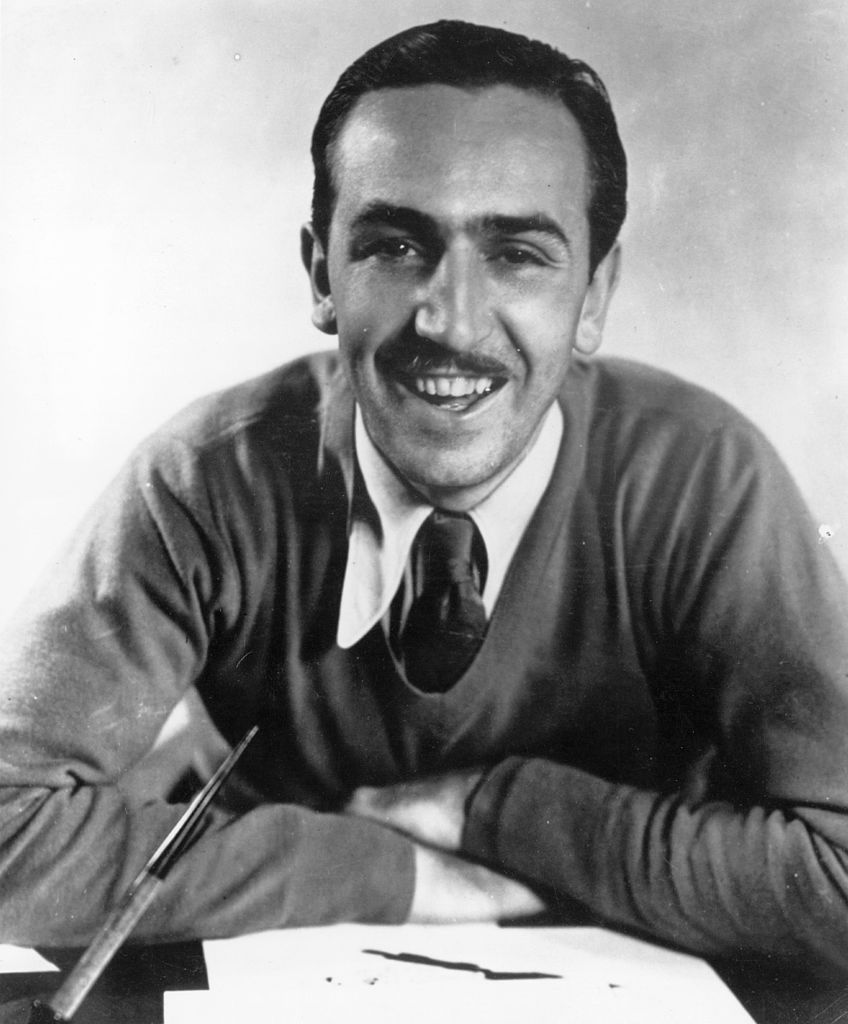Walt Disney (1901-1966), American cartoonist and film maker. | Getty Images
