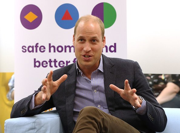 Prince William, Duke of Cambridge during a visit to the Albert Kennedy Trust.| Photo: Getty Images