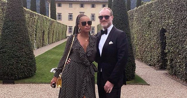 Eve & Her Husband Enjoy a Romantic Vacation at Lake Como — See Why It's Her Favorite Place