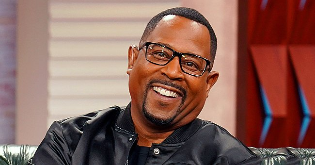 Martin Lawrence Answers Questions about His Beautiful Daughters Who Flash Big Smiles in Video