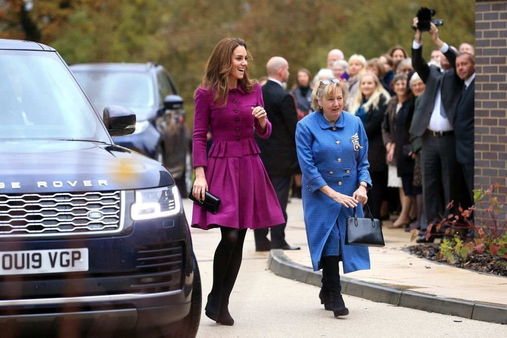 Catherine, Duchess of Cambridge opens The Nook Children Hospice on November 15, 2019 in Framingham Earl, Norfolk. | Photo: Getty Images