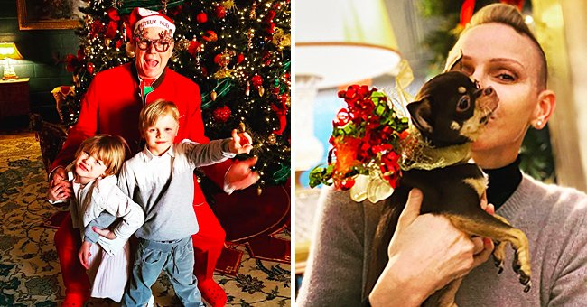 Princess Charlene of Monaco Shares a Cute Festive Photo — See Prince Albert with Their Children