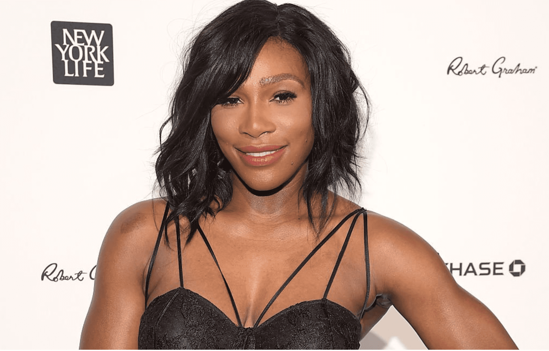 Serena Williams at the 2015 Sports Illustrated Sportsperson of the Year Ceremony in New York City on December 15, 2015.   Source: Getty Images