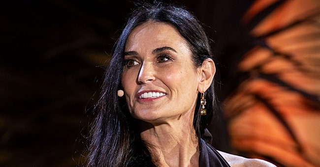 Demi Moore's Fans Worry Her Dogs Are Cold in a New Family Photo She Shared