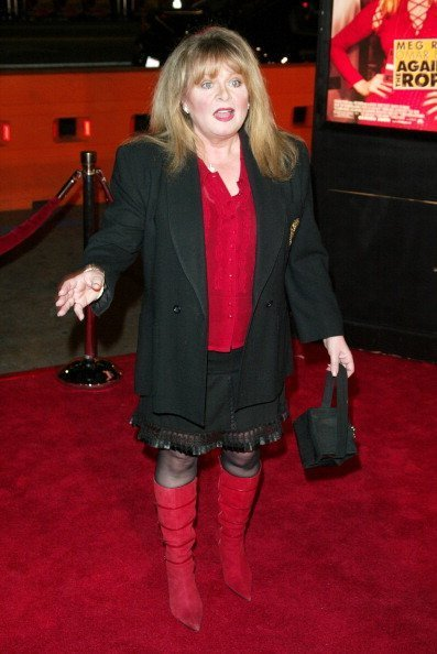 Sally Struthers at Graumann's Chinese Theatre in Los Angeles | Photo: Getty Images