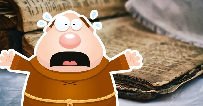 Daily Joke: Young Monk Helped Discover a Drastic Mistake In a Copy of an Original Manuscript