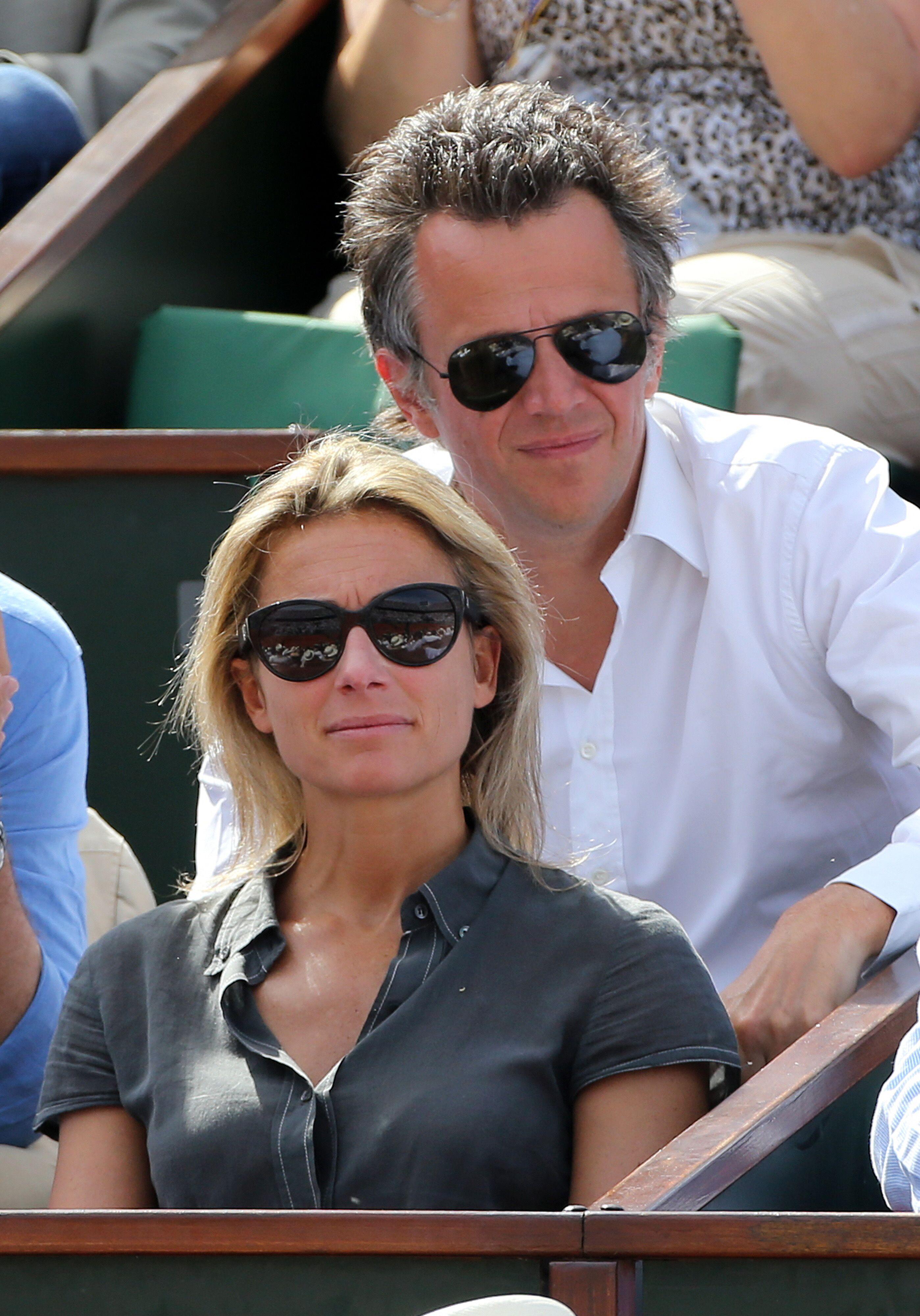 Anne-Sophie et son compagnon Arthur Sadoun. l Source : Getty Images