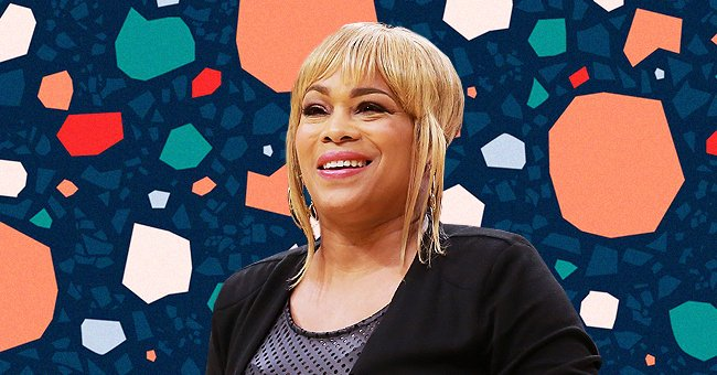 TLC Singer T-Boz's Daughter Poses with Her 'Baby Sis' Showing Fluffy Hair in a Blue Dress