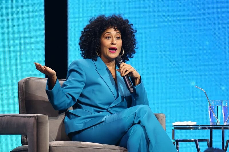 Tracee Ellis Ross at Oprah's 2020 Vision Tour in February   Source: Getty Images/GlobalImagesUkraine