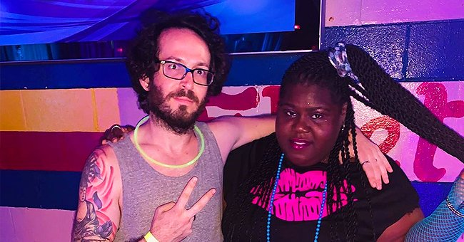 Gabby Sidibe of 'American Horror Story' and Boyfriend Brandon Frankel Explore Tulum Cenote While Social Distancing