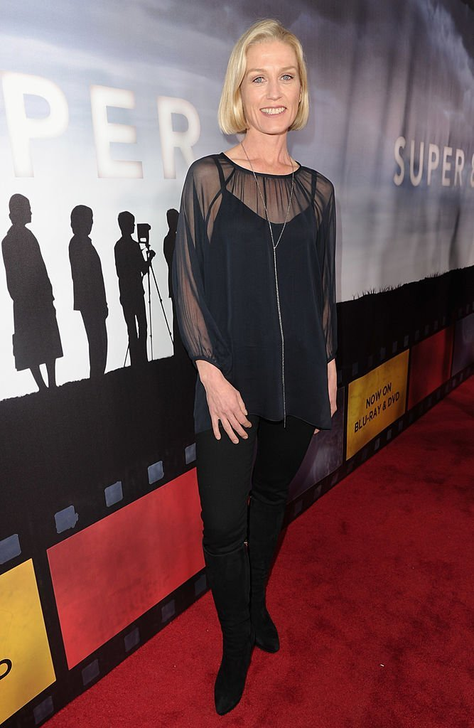 """Jessica Tuck arrives to Paramount Pictures' """"Super 8"""" Blu-ray and DVD release party  