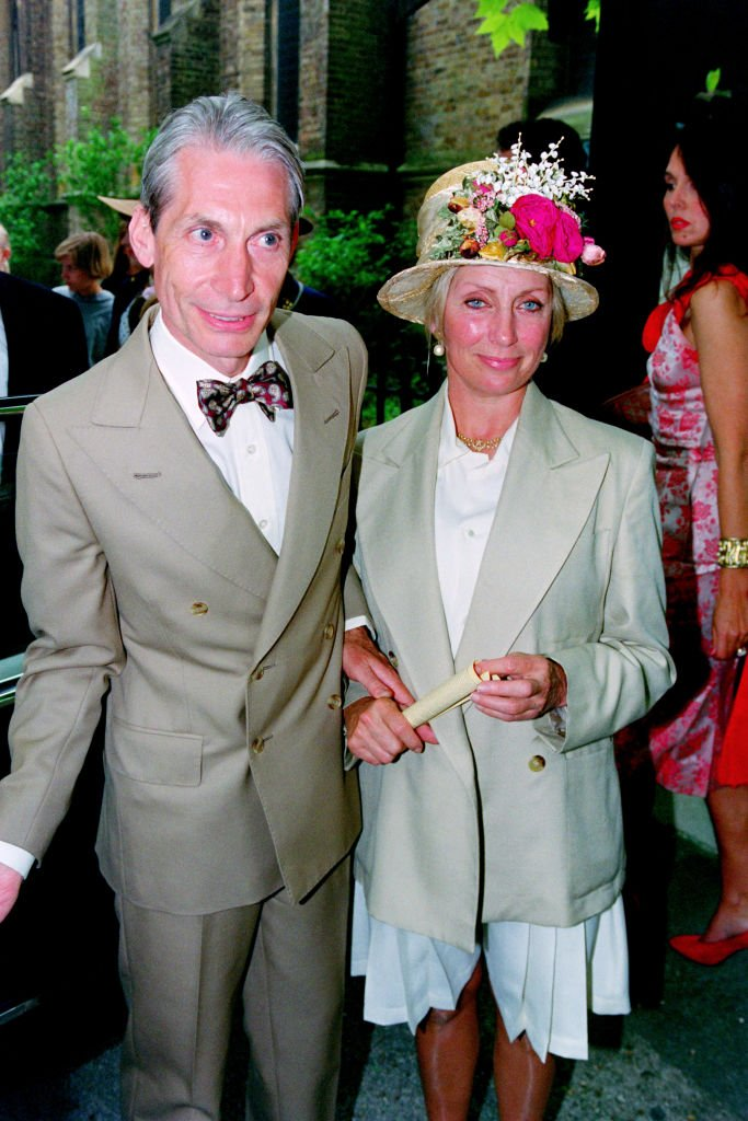 Charlie et Shirley Watts | photo : Getty Images