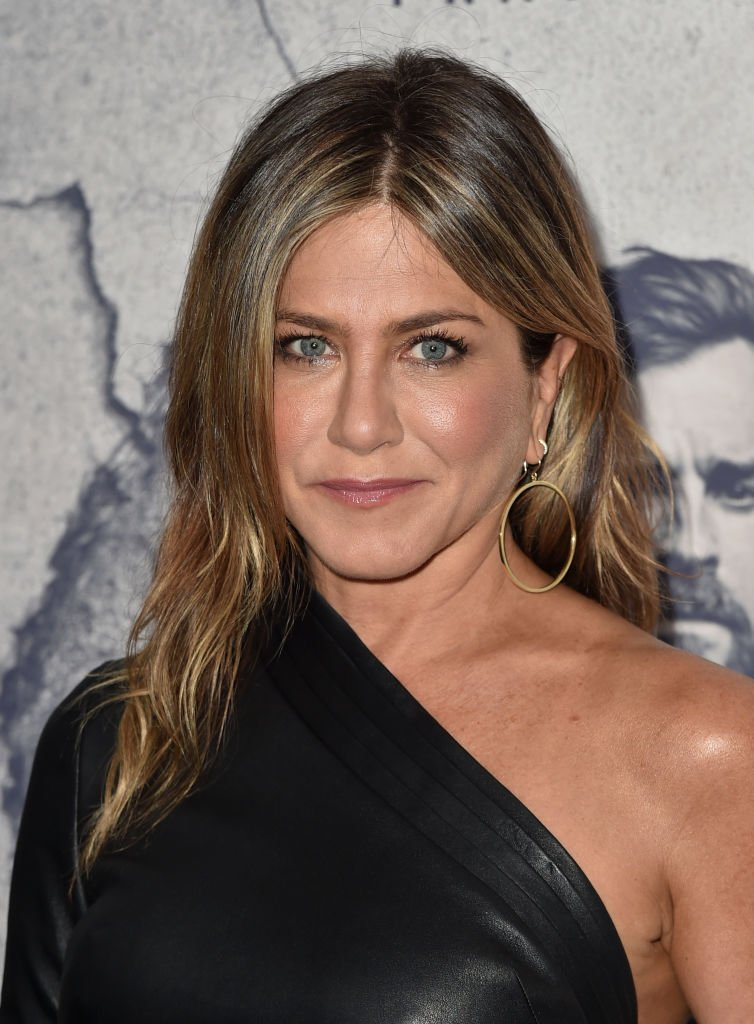 "Jennifer Aniston attends the premiere of HBO's ""The Leftovers"" Season 3 at Avalon Hollywood 
