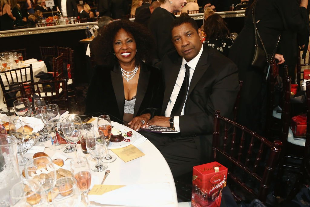 Denzel Washington and Pauletta Washington attend the The Golden Globe Awards Sponsored By Lindt Chocolate on January 6, 2019. | Photo: Getty Images