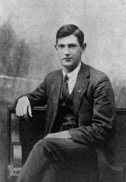 El soldado y político irlandés Michael Collins (1890 - 1922) fue liberado de prisión por su participación en el Levantamiento de Pascua de 1916. | Fuente: Getty Images