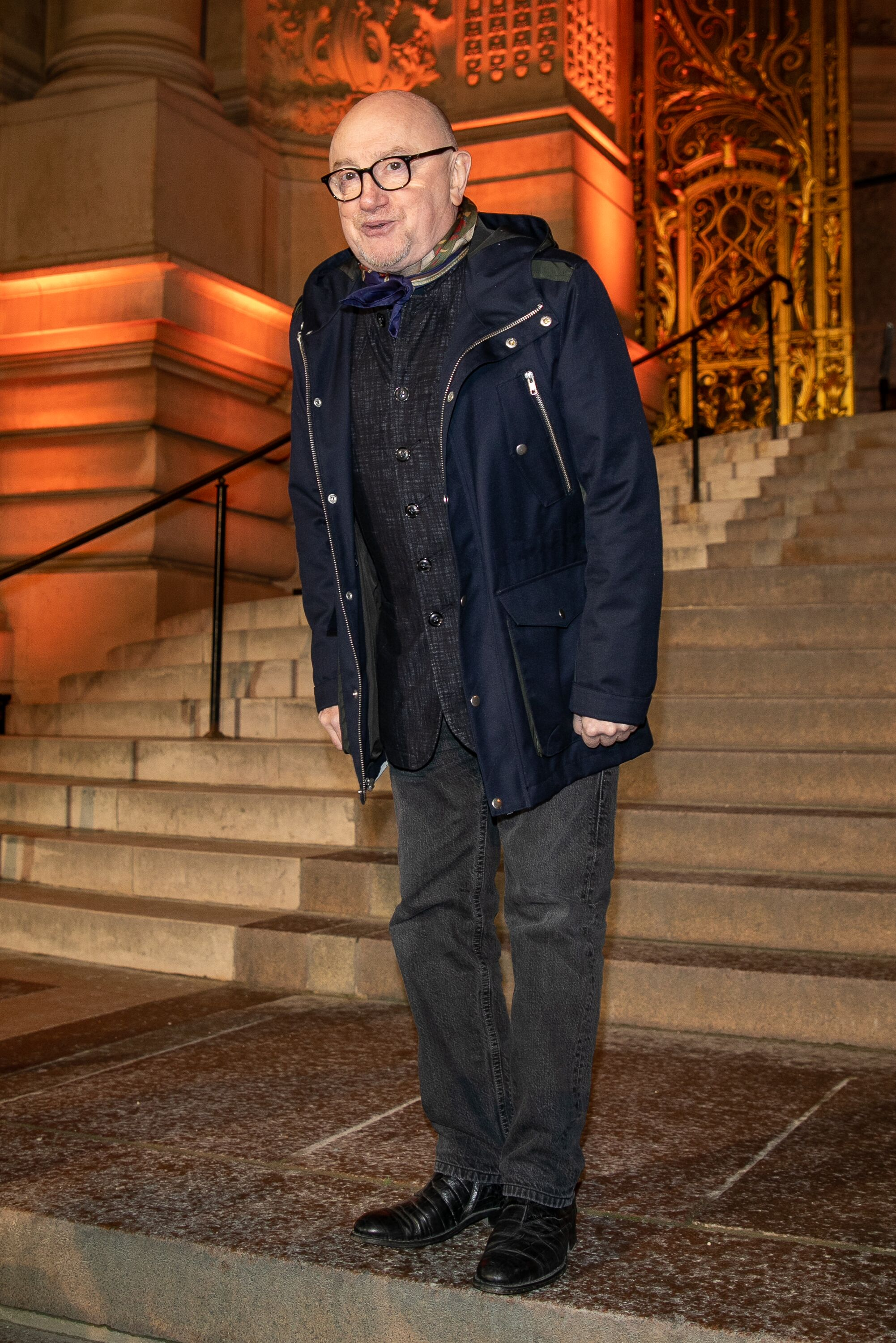 L'acteur Michel Blanc au Petit Palais le 13 janvier 2020 à Paris, France. | Photo : Getty Images