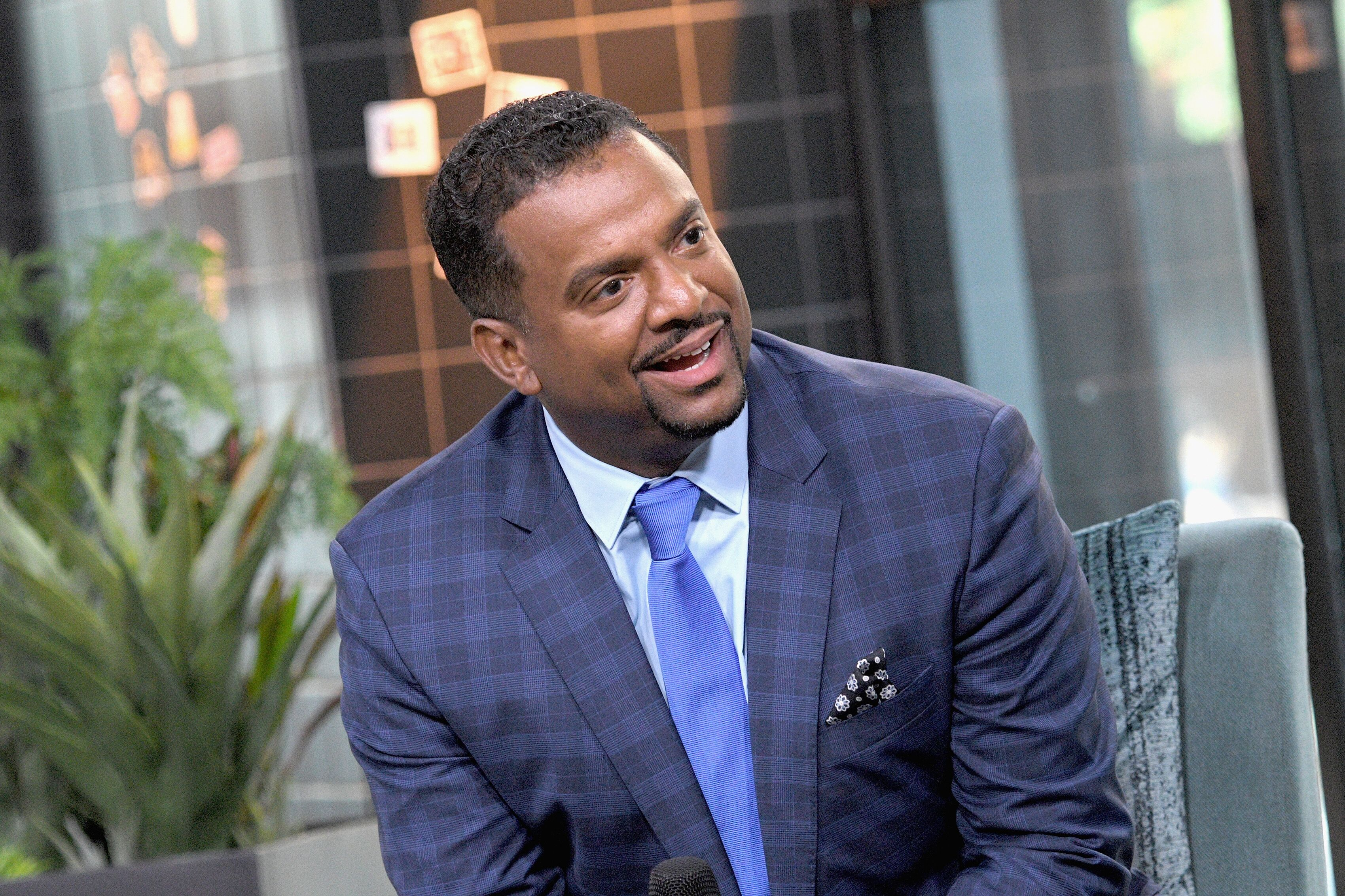 "Alfonso Ribeiro visits the Build Series to discuss ""America's Funniest Home Videos"" 30th Anniversary at Build Studio on September 26, 2019 