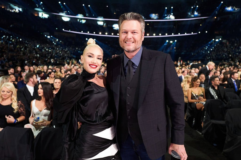 Gwen Stefani and Blake Shelton attend the 53rd annual CMA Awards at the Bridgestone Arena. | Photo: Getty Images
