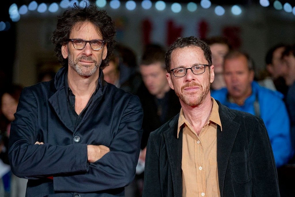 "Joel and Ethan Coen at the screening of ""Inside Llewyn Davis"" during the 57th BFI London Film Festival on October 15, 2013 