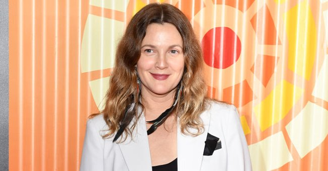 Drew Barrymore at Charlize Theron's Africa Outreach Project Fundraiser at The Africa Center in New York City   Photo: Noam Galai/WireImage via Getty Images