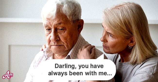The old man had been at his wife's side for many hardships in her life. | Photo: Shutterstock