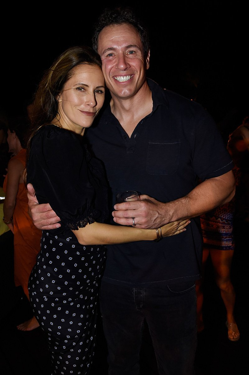 Cristina Cuomo and Chris Cuomo attending the weekend opening of The NEW ultra-luxury Cove Resort at Atlantis Paradise Island in The Bahamas in November 2017. I Image: Getty Images.