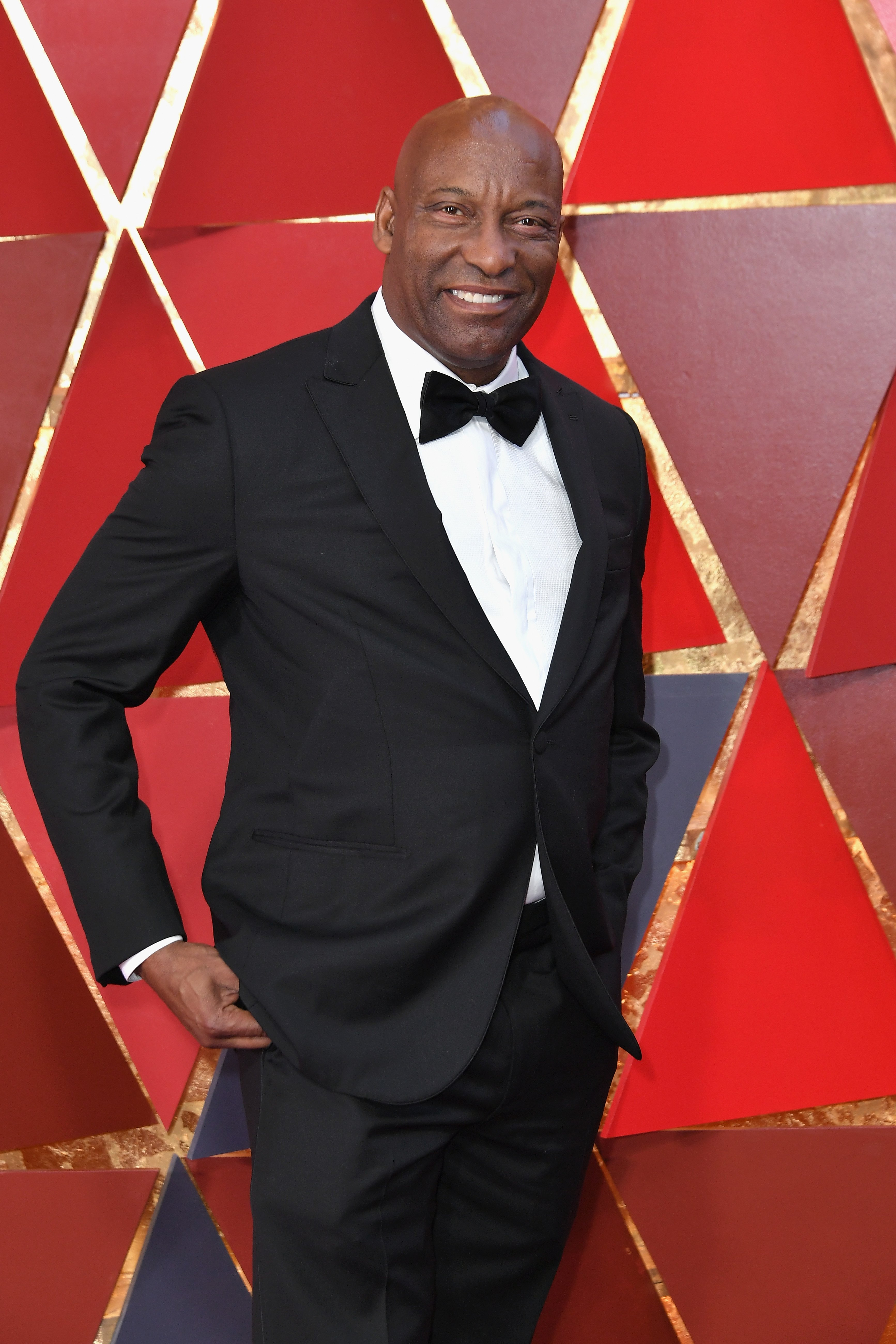 John Singleton attends the 90th Annual Academy Awards.   Photo: GettyImages