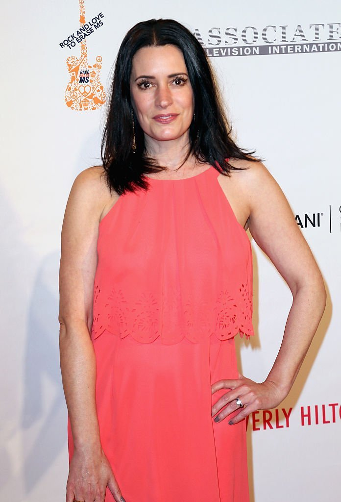 Paget Brewster attends the 23rd Annual Race To Erase MS Gala at The Beverly Hilton Hotel | Getty Images