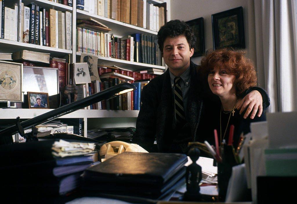 Regine Deforges et son fils Franck 1989 | Getty Images